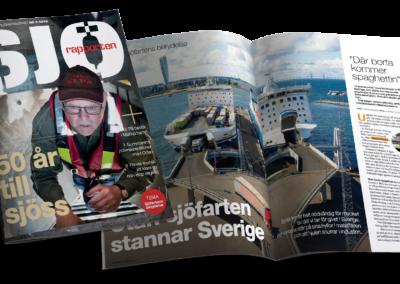 Under temat Sjöfartens betydelse besöker Sjörapporten Malmö hamn och pratar om vikten av en fungerande sjöfart för Sverige.